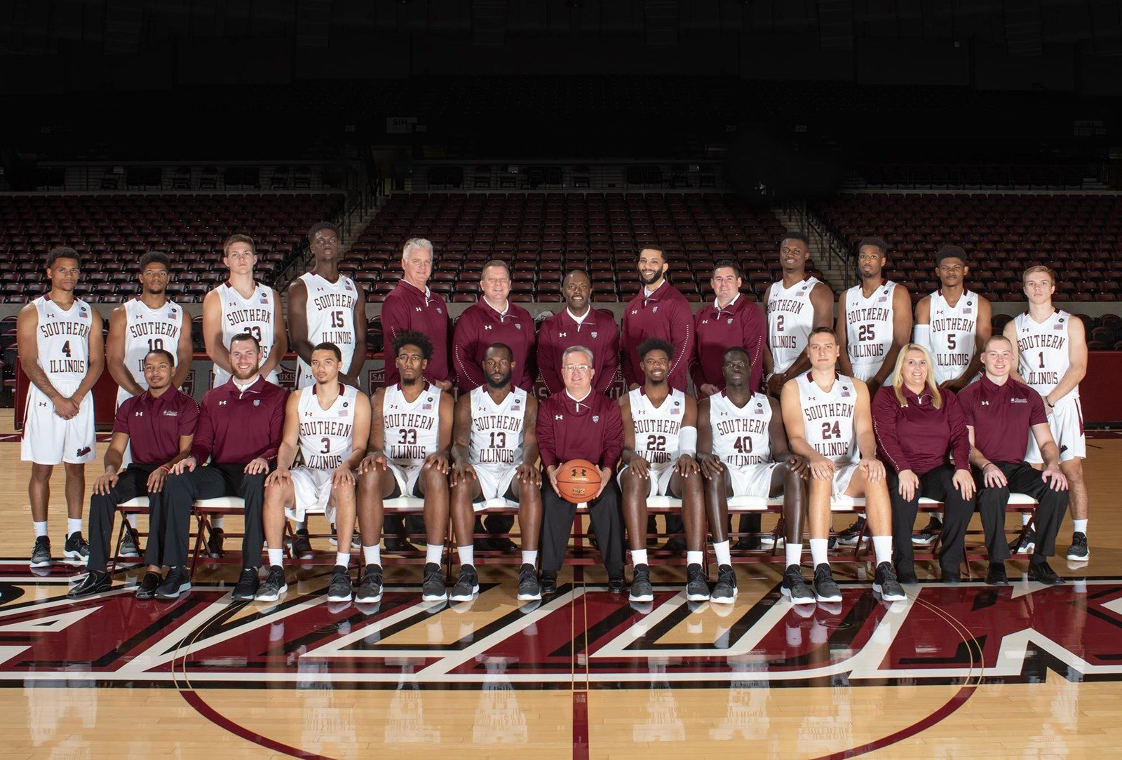 2018-19 Men's Basketball Roster - Southern Illinois